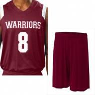 A4 NB2340 Youth Moisture Management V-Neck Muscle Custom Basketball Uniform