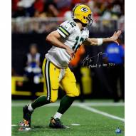"Aaron Rodgers Signed 300th TD Pass 20x24 Photo w/ ""Fastest to 300"" Insc"