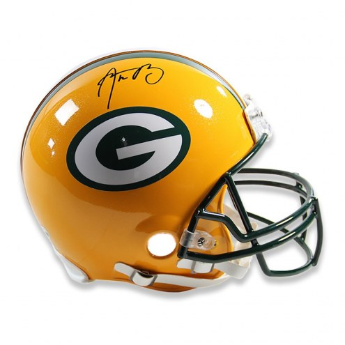 Aaron Rodgers Signed Green Bay Packers Full Size Authentic Helmet