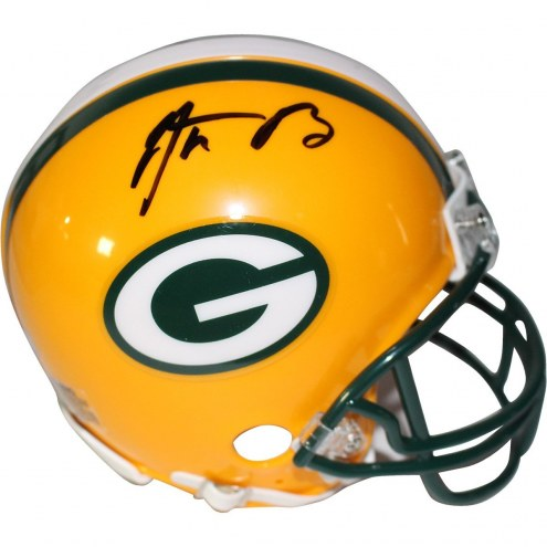 Aaron Rodgers Signed Green Bay Packers Mini Helmet