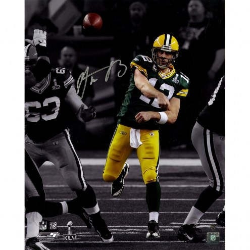 Aaron Rodgers Signed 'Spotlight Pass' 16x20 Photo
