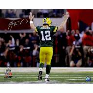 Aaron Rodgers Signed 'Super Bowl XLV TD Celebration' 16x20 Photo