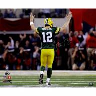 Aaron Rodgers Signed 'Super Bowl XLV TD Celebration' 20x24 Photo
