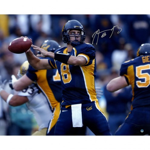 Aaron Rodgers Signed University of California 16 x 20 Throwing Photo