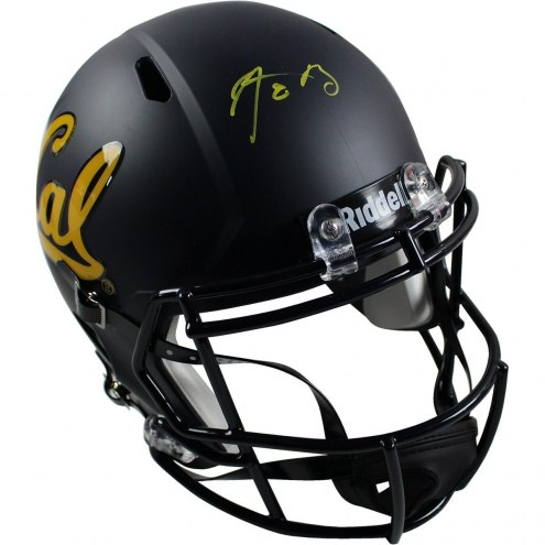Aaron Rodgers Signed University of California Full Size Replica Helmet