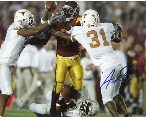 Aaron Ross University of Texas 8x10