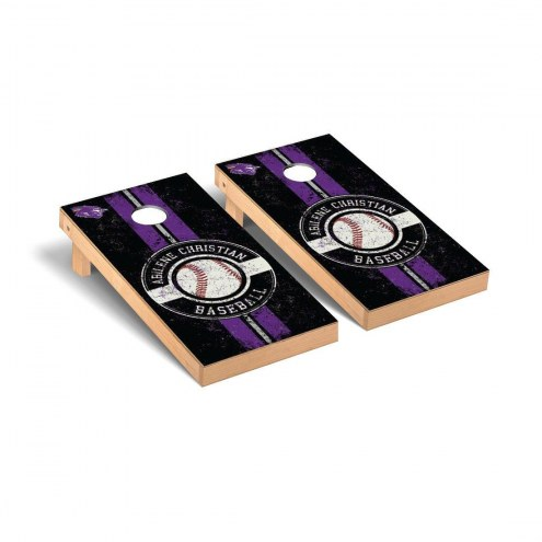 Abilene Christian Wildcats Baseball Vintage Cornhole Game Set