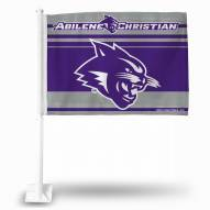 Abilene Christian Wildcats Car Flag