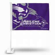 Abilene Christian Wildcats College Car Flag