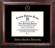 Abilene Christian Wildcats Gold Embossed Diploma Frame
