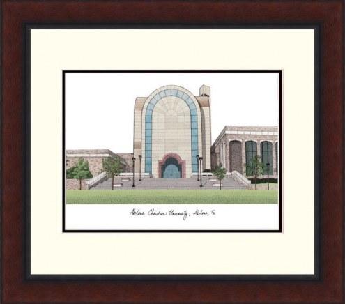 Abilene Christian Wildcats Legacy Alumnus Framed Lithograph