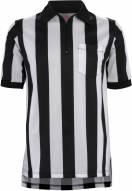 """Adams Football Officials Short Sleeve Shirt with 2"""" Stripe"""