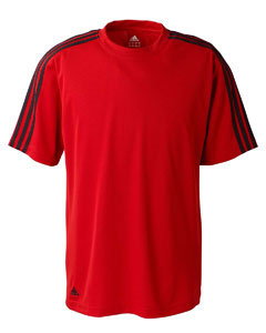 adidas Custom Men's Climalite 3 Stripes Shirt - FREE Embroidery