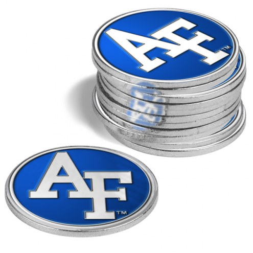 Air Force Falcons 12-Pack Golf Ball Markers