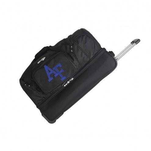 "Air Force Falcons 27"" Drop Bottom Wheeled Duffle Bag"