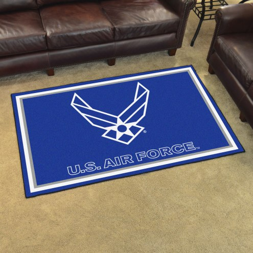 Air Force Falcons 4' x 6' Area Rug