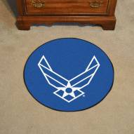 "Air Force Falcons 44"" Round Area Rug"