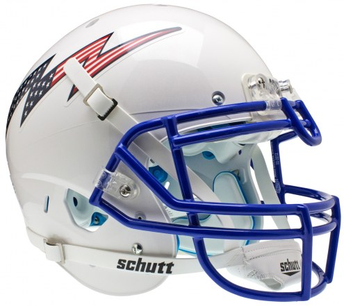 Air Force Falcons Stripe Schutt XP Authentic Full Size Football Helmet
