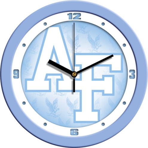 Air Force Falcons Baby Blue Wall Clock