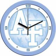 Air Force Falcons Baby Blue Wall Clock