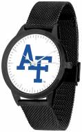 Air Force Falcons Black Mesh Statement Watch