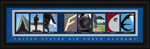 Air Force Falcons Campus Letter Art