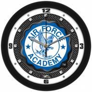 Air Force Falcons Carbon Fiber Wall Clock