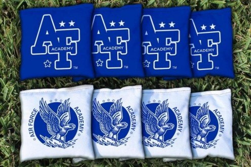 Air Force Falcons College Vault Cornhole Bag Set