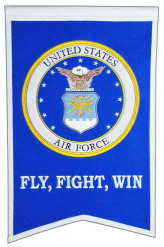 Air Force Falcons Crest Banner