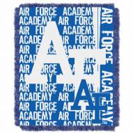 Air Force Falcons Double Play Woven Throw Blanket