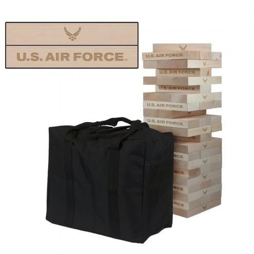 Air Force Falcons Giant Wooden Tumble Tower Game