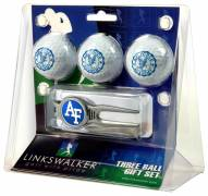 Air Force Falcons Golf Ball Gift Pack with Kool Tool