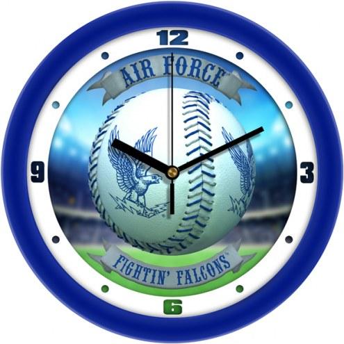 Air Force Falcons Home Run Wall Clock