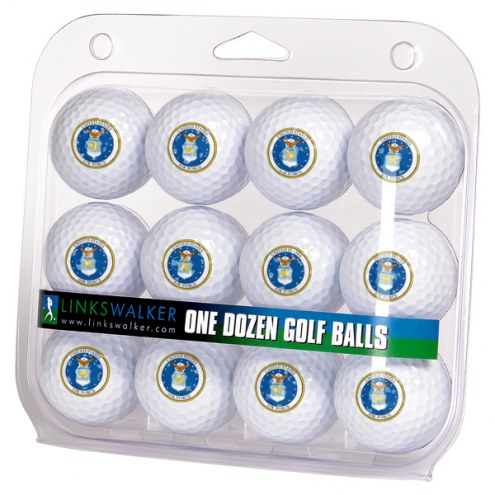 Air Force Falcons Linkswalker Dozen Golf Balls
