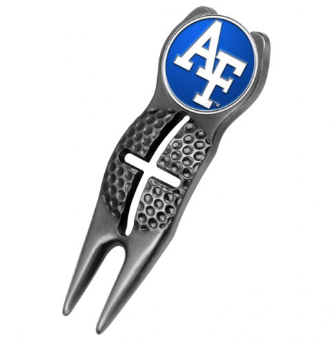 Air Force Falcons NCAA Black Crosshairs Divot Tool