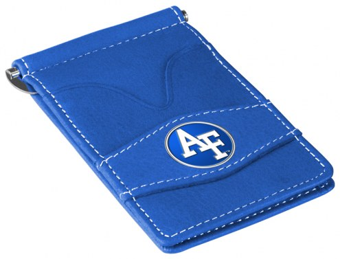 Air Force Falcons NCAA Blue Player's Wallet