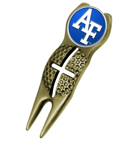 Air Force Falcons NCAA Gold Crosshairs Divot Tool