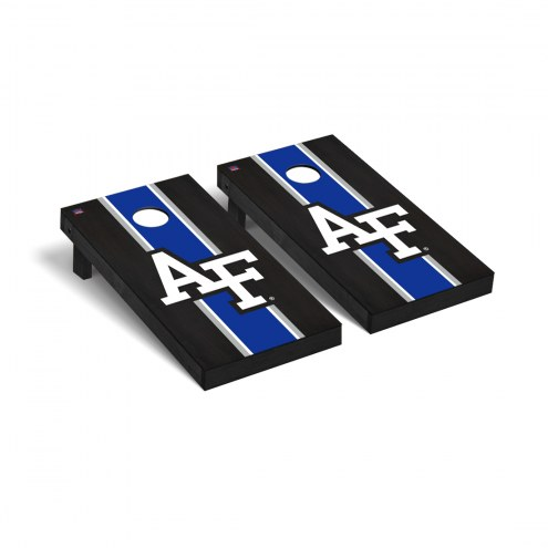 Air Force Falcons Onyx Stained Cornhole Game Set