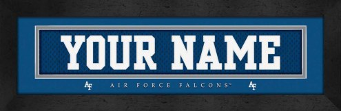 Air Force Falcons Personalized Stitched Jersey Print