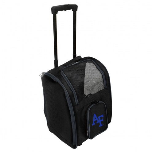 Air Force Falcons Premium Pet Carrier with Wheels