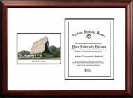 Air Force Falcons Scholar Diploma Frame
