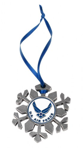 Air Force Falcons Snow Flake Ornament