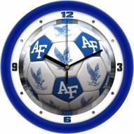 Air Force Falcons Soccer Wall Clock