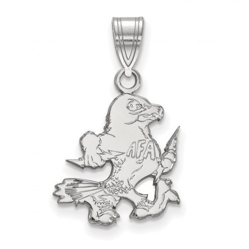Air Force Falcons Sterling Silver Medium Pendant