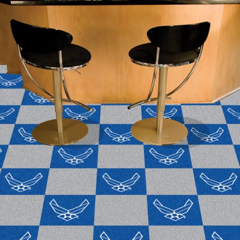 Air Force Falcons Team Carpet Tiles