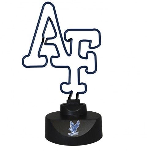 Air Force Falcons Team Logo Neon Lamp