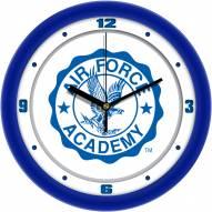 Air Force Falcons Traditional Wall Clock