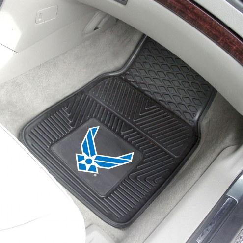 Air Force Falcons Vinyl 2-Piece Car Floor Mats