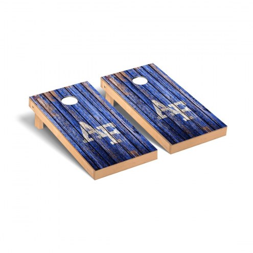 Air Force Falcons Weathered Cornhole Game Set