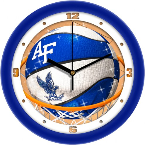 Air Force Falcons Slam Dunk Wall Clock